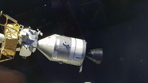 Model Orla před oddělením od Apolla. (Planetárium Praha) - Sputnik Česká republika
