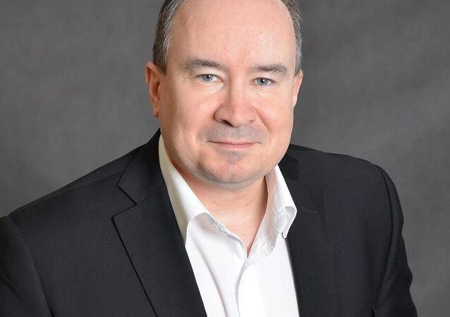 Předseda Dělnické strany sociální spravedlnosti (DSSS) Tomáš Vandas