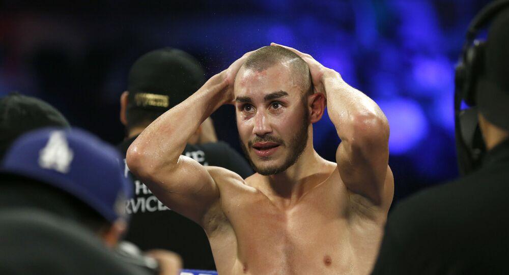 Ruský boxer Maxim Dadašev