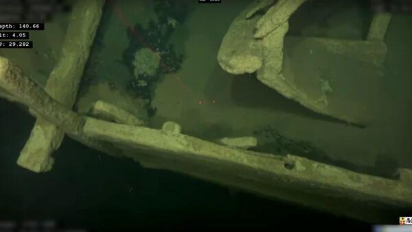 Loď z doby Christophera Columbuse byla nalezena v dobrém stavu na dně Baltského moře - Sputnik Česká republika