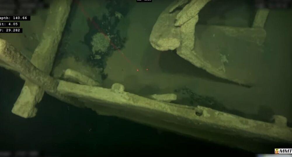 Loď z doby Christophera Columbuse byla nalezena v dobrém stavu na dně Baltského moře