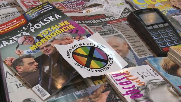 """V Polsku přemýšlejí o zavedení """"zóny bez homosexuálů."""" Vládnoucí polská strana to komentuje  - Sputnik Česká republika"""