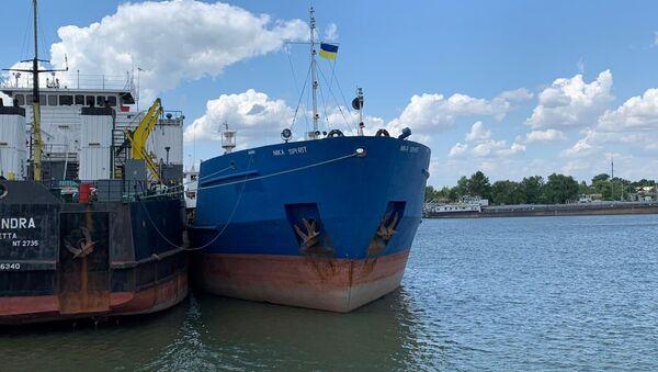 Zadržení ruského tankera Neyma Službou bezpečností Ukrajiny - Sputnik Česká republika