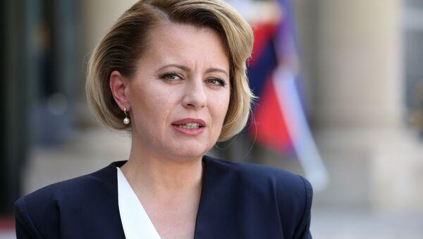 Slovenská prezidenta Zuzana Čaputová - Sputnik Česká republika