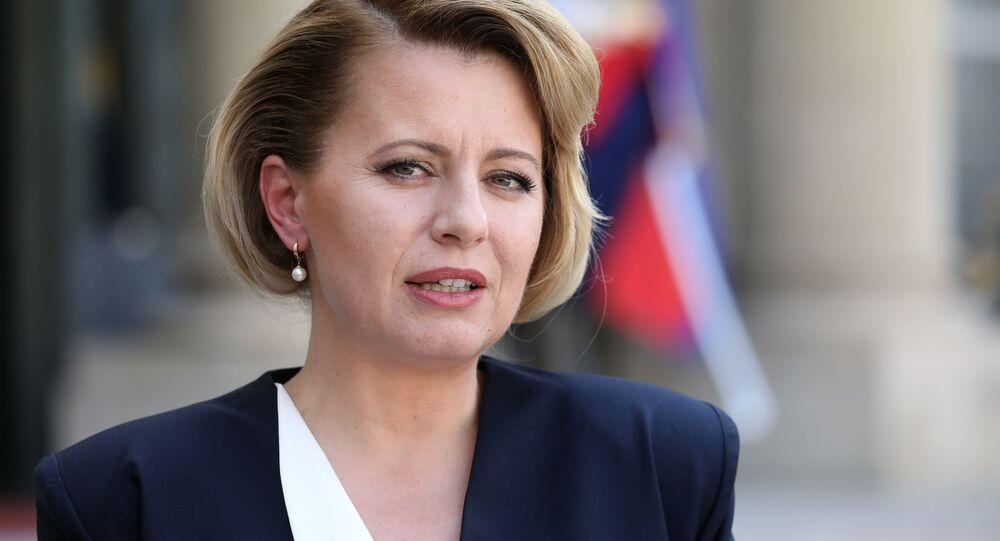 Slovenská prezidenta Zuzana Čaputová