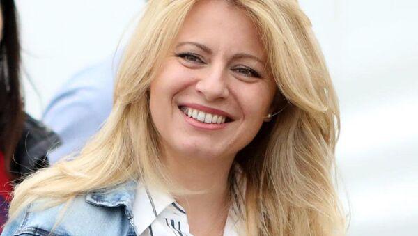 Prezidentka Slovenska Zuzana Čaputová - Sputnik Česká republika
