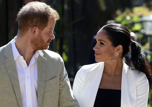 Vévoda a Vévodkyně z Sussexa, Princ Harry a jeho manželka Meghan Markle