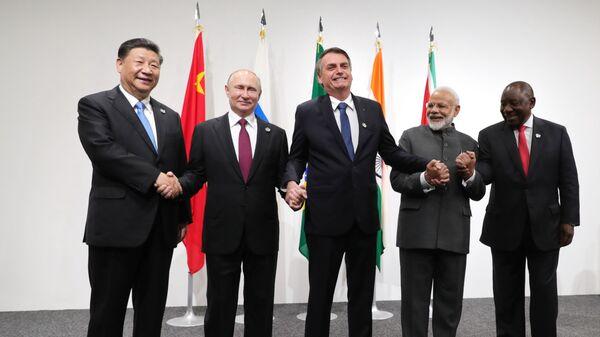 Lideři BRICS - Sputnik Česká republika