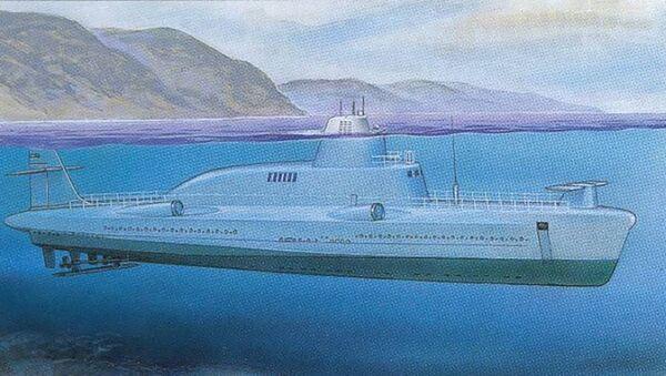 Malá ponorná raketová loď projektu 1231 (varianta bez křídel) - Sputnik Česká republika