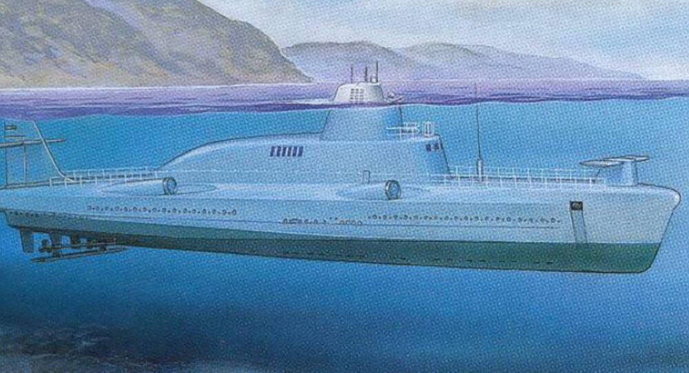 Malá ponorná raketová loď projektu 1231 (varianta bez křídel)