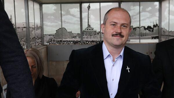 Lídr ĽSNS a poslanec Národní rady SR Marian Kotleba  - Sputnik Česká republika