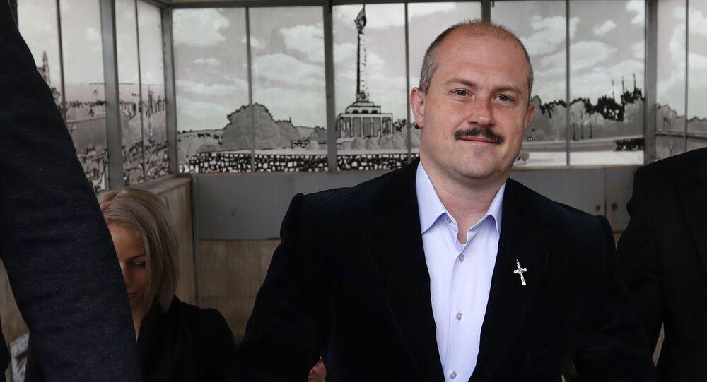 Lídr ĽSNS a poslanec Národní rady SR Marian Kotleba