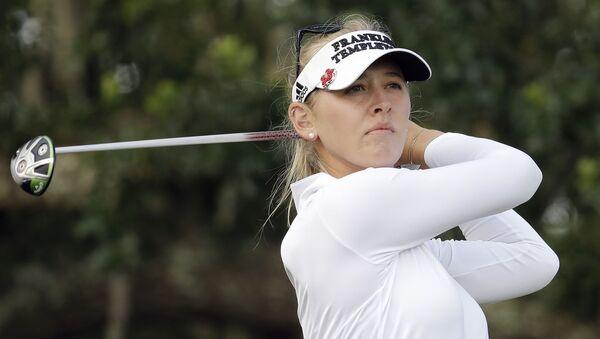 Golfistka Jessica Korda - Sputnik Česká republika