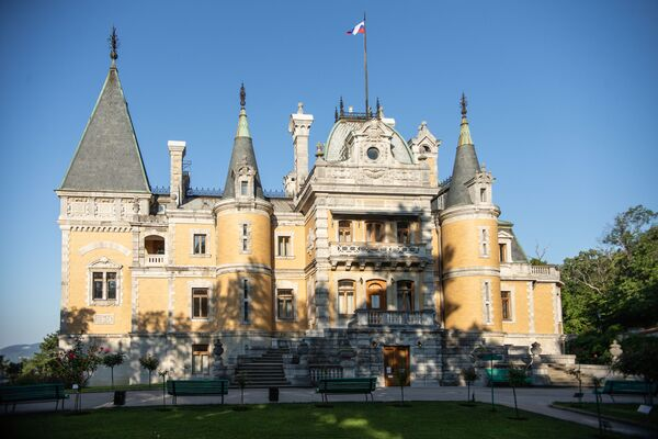 Palác Alexandra III. v Massandře. - Sputnik Česká republika