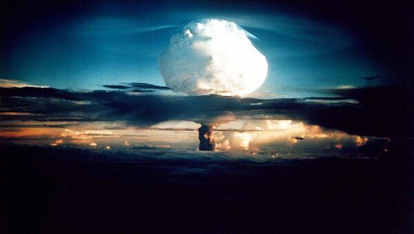 Zkouška termonukleárního jaderného zařízení v USA - Sputnik Česká republika