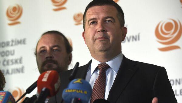 Ministr vnitra ČR Jan Hamáček - Sputnik Česká republika