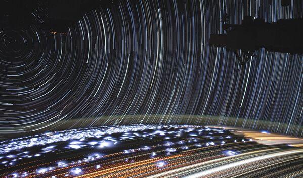 Snímek Země z Mezinárodní vesmírné stanice - Sputnik Česká republika