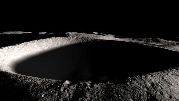 Jižní pól Měsíce - Sputnik Česká republika