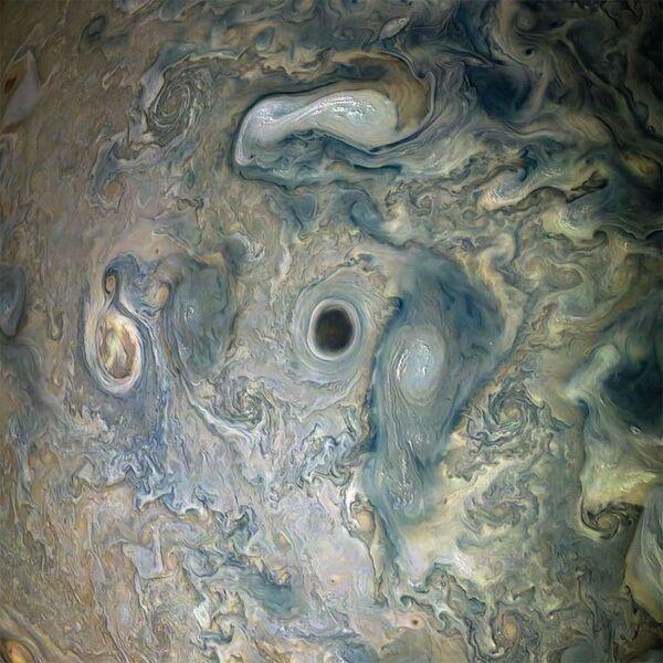Bouře na Jupiteru - Sputnik Česká republika