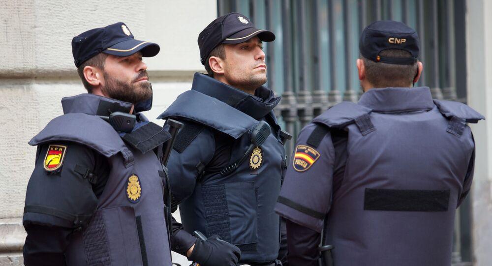 Španelská policie