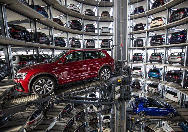 Závod Volkswagen v Německu