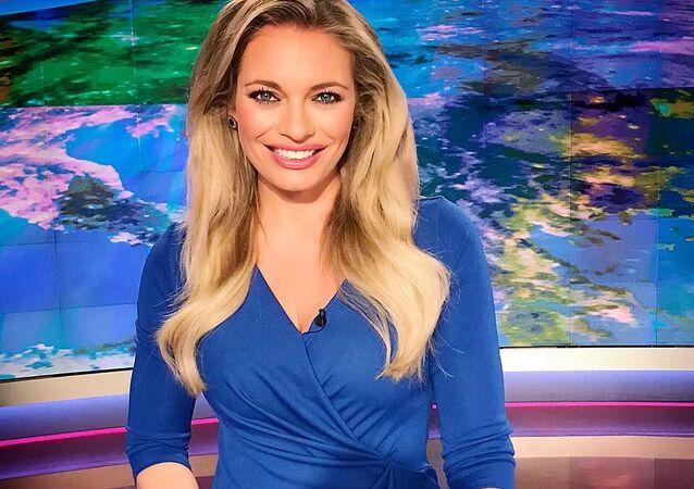 TV moderátorka Lucie Borhyová.
