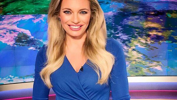 TV moderátorka Lucie Borhyová. - Sputnik Česká republika