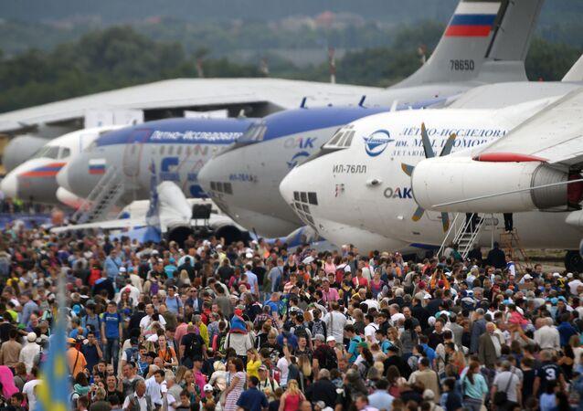 Mezinarodní forum MAKS v Moskvě