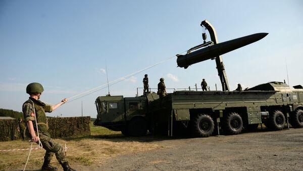 Raketový systém Iskander-M - Sputnik Česká republika