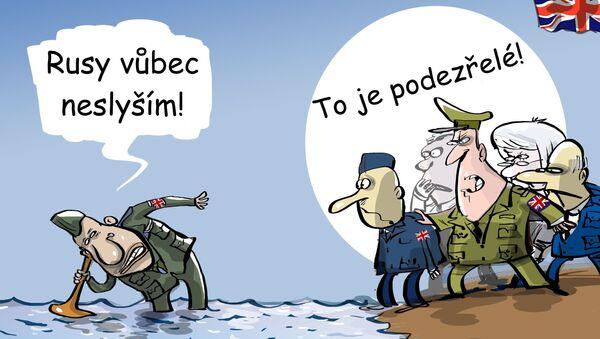 Britská armáda se bojí invaze ruských ponorek - Sputnik Česká republika