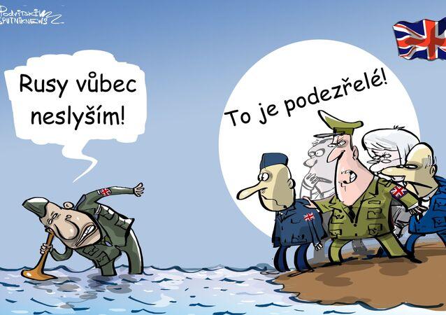 Britská armáda se bojí invaze ruských ponorek