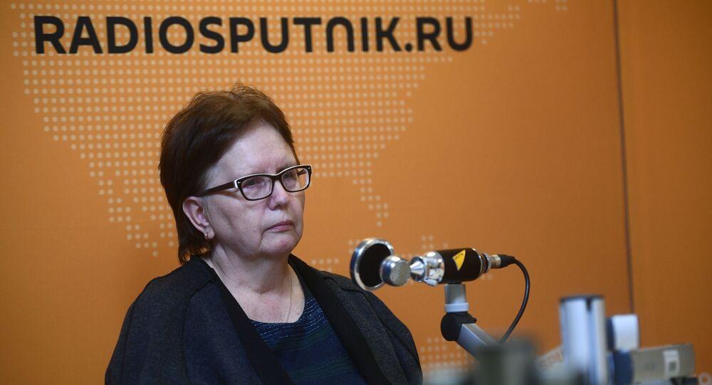 Věra Stěninová, matka fotoreportéra ruské agentury MIA Rossiya Segodnya Andreje Stěnina
