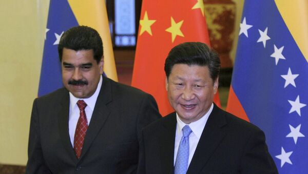Nicolás Maduro a Si Ťin-pching - Sputnik Česká republika