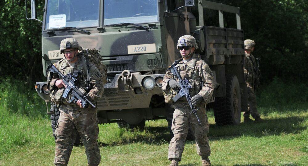 Ukrajinsko-americká Cvičení Fearless Guardian - 2015