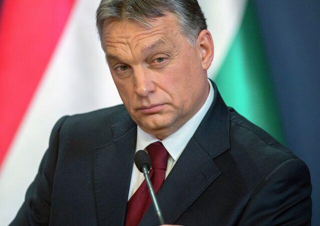 Premiér Maďarska Viktor Orbán