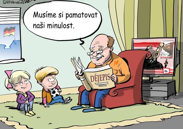 Ke sjednocení Německa by bez Rusů nedošlo