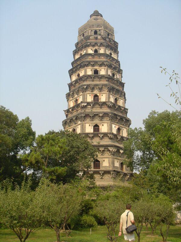 Tiger Hill Pagoda, Čína - Sputnik Česká republika
