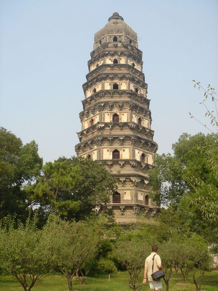Tiger Hill Pagoda, Čína