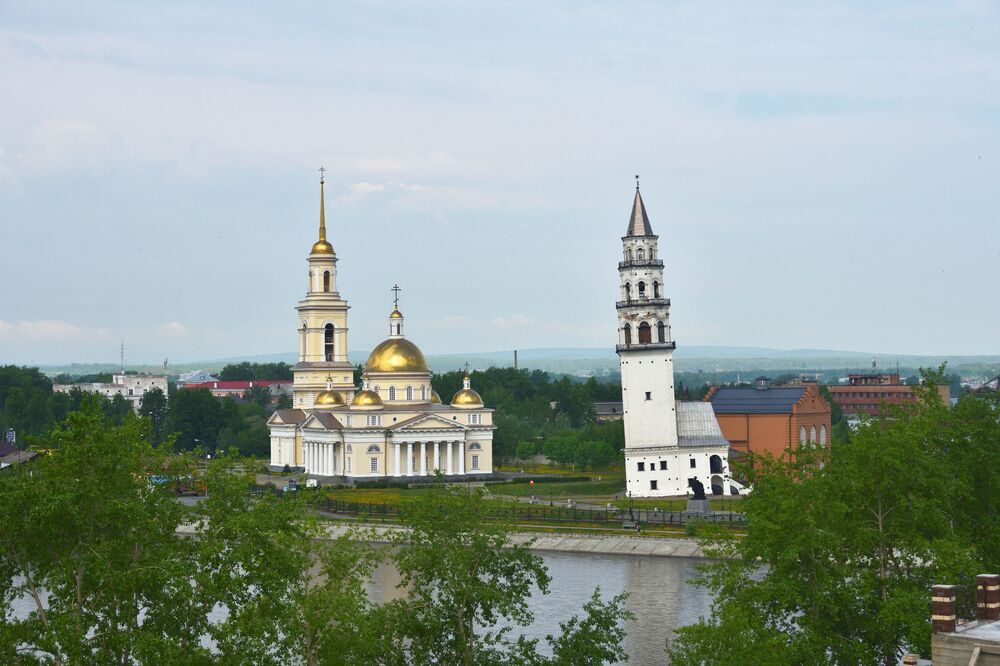 Nevjanská věž, Nižnij Tagil, Rusko