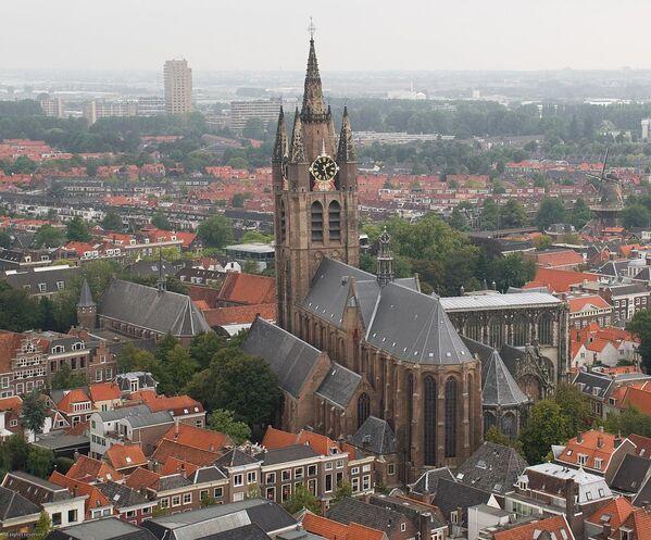 Kostel Oude Kerk, Delft, Nizozemsko - Sputnik Česká republika
