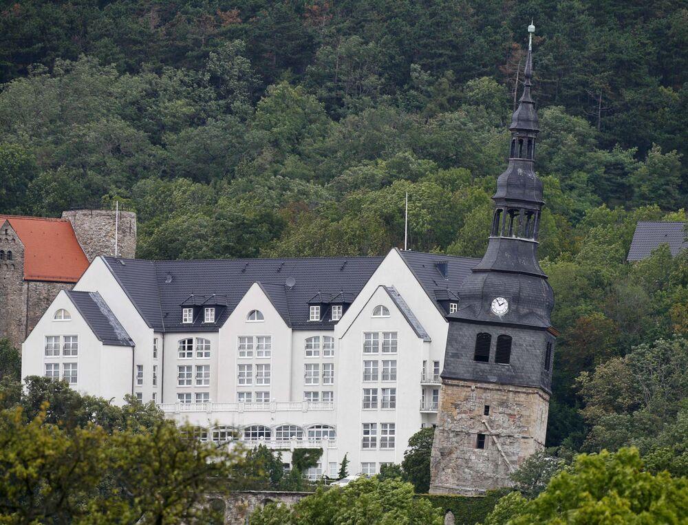 Věž v Bad Frankenhausen, Německo