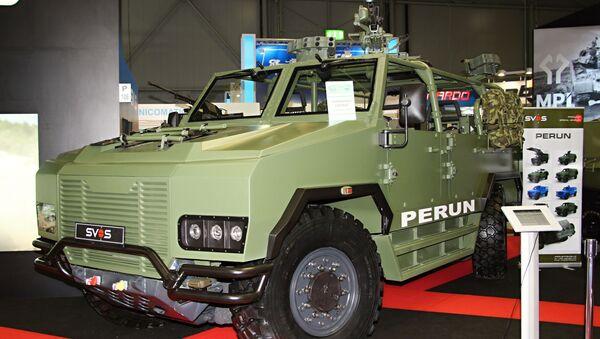 Bojové vozidlo Perun - Sputnik Česká republika