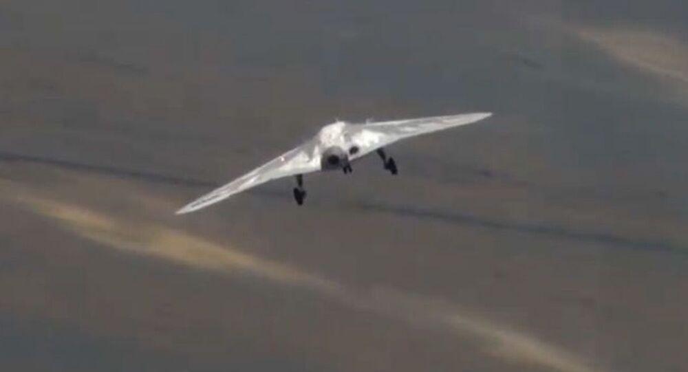 První let dronu Ochotnik