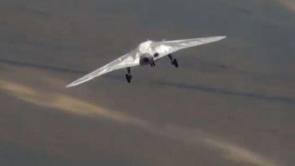 První let dronu Ochotnik - Sputnik Česká republika
