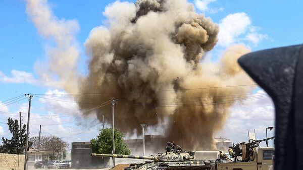 Válka v Libyi. Ilustrační foto - Sputnik Česká republika