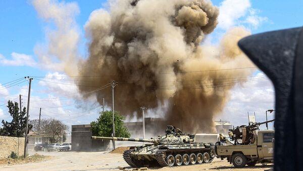 Válka v Libyi  - Sputnik Česká republika