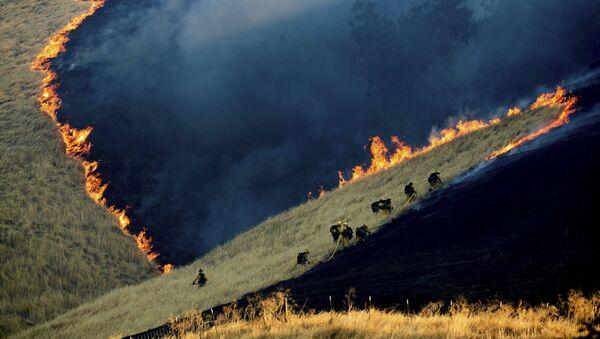 Požár v Kalifornii - Sputnik Česká republika