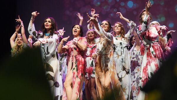 Účastníci finále soutěže Missis Rusko 2019 v Moskvě - Sputnik Česká republika