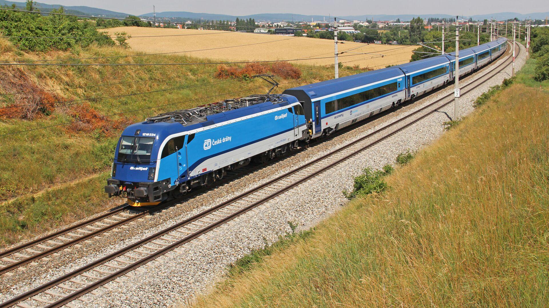 Vlak v Česku - Sputnik Česká republika, 1920, 27.05.2021