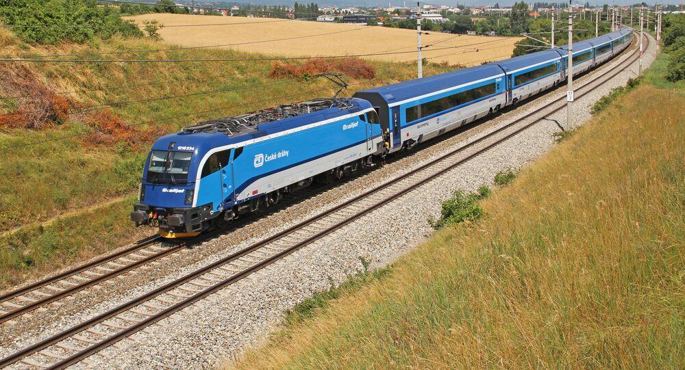 Vlak v Česku